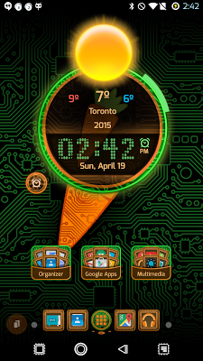 PCB Carrot ⁞ TSF Shell 3 Theme - screenshot