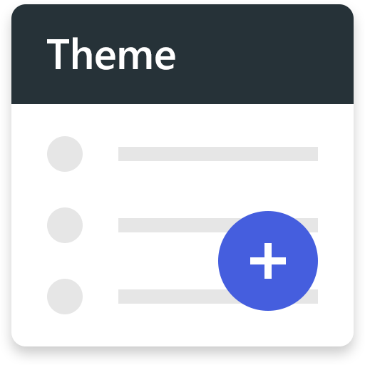 Theme — Nougat Blue file APK for Gaming PC/PS3/PS4 Smart TV