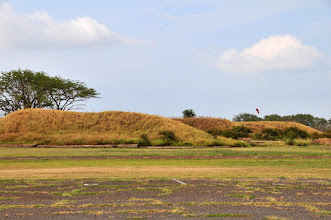 "Photo: The MRP facility was a WW2 Navy airfield (NAS Pu'unene), and these are some of the ammunition bunkers from that era.   ""...ammunition bunkers held two functional requirements; to protect the ammunition from outside attack, but equally to protect the base itself from the forces of the potentially volatile weapons."""
