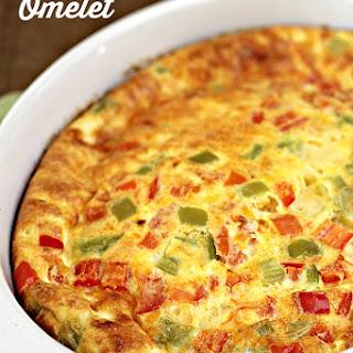 Oven Baked Omelet.