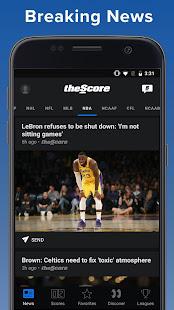App theScore: Live Sports Scores, News, Stats & Videos APK for Windows Phone