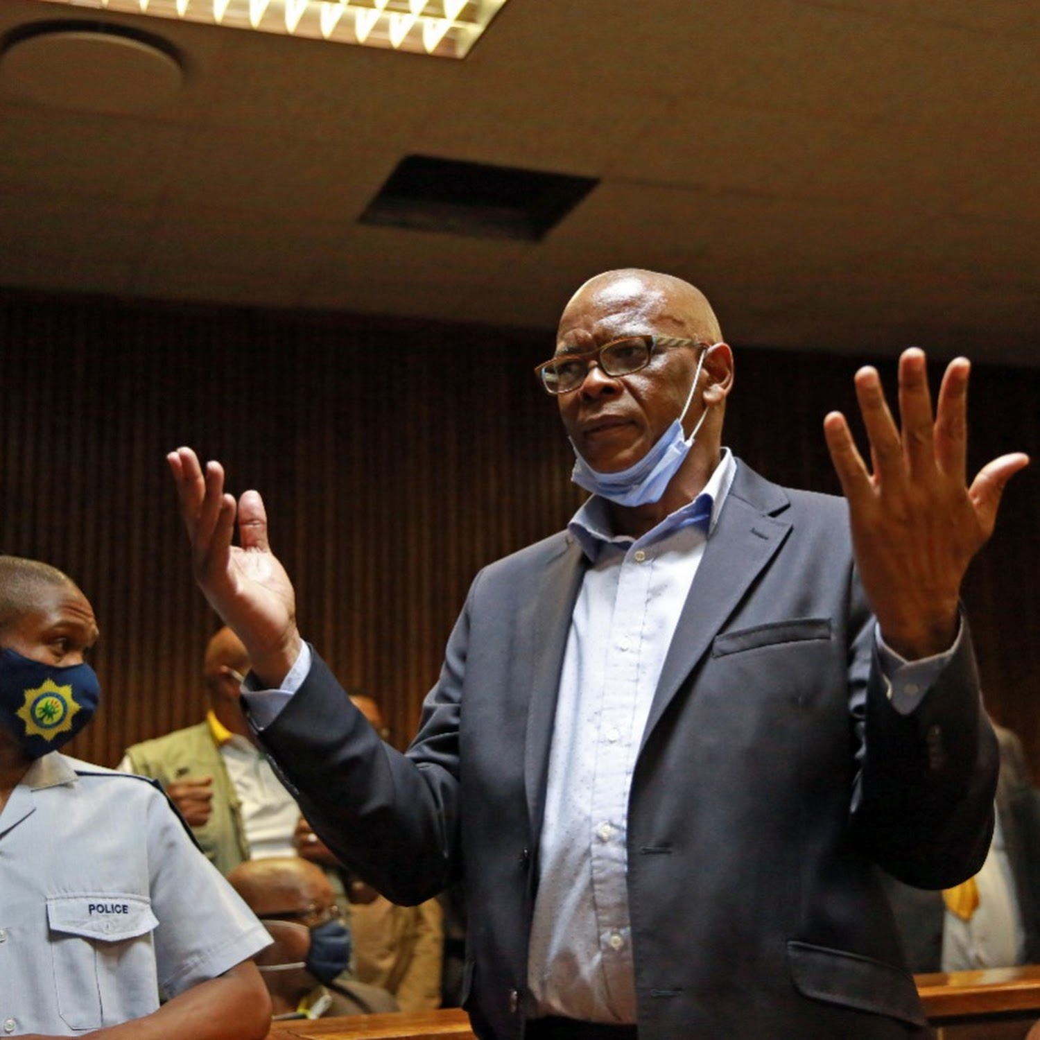 Ace Magashule bailed on R200,000, court hears he earns R133,000 salary from  ANC