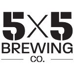 Logo for 5x5 Brewing Co.