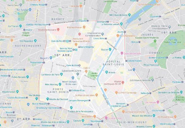 10º arrondissement de l'Entrepôt