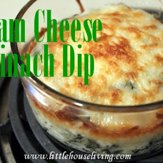 Baked Spinach Dip Cream Cheese Recipes