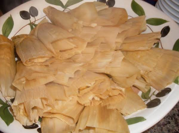 Cinnamon Sugar Tamales