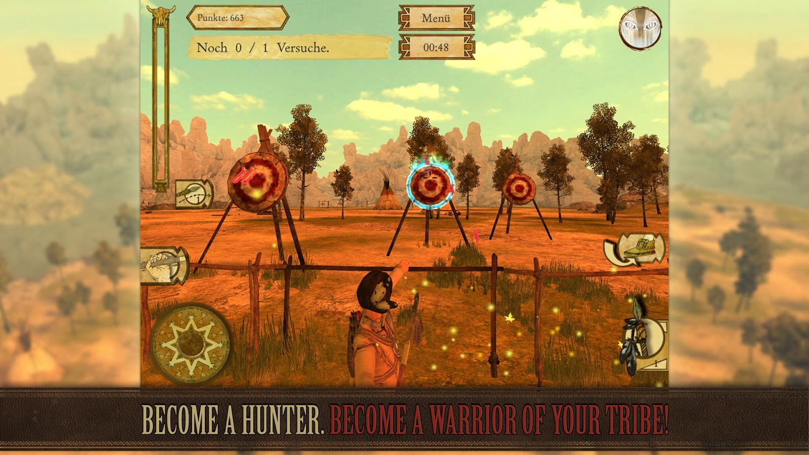 Indian Hunter - Free- screenshot
