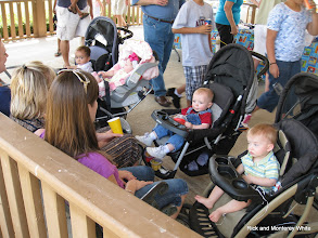 Photo: Babes watching their moms at Cypress Creek Station.   Photo by Peter Bryan.   HALS 2009-0620