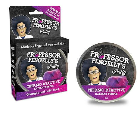 Professor Pengelly's Putty - Thermo Reactive Purple
