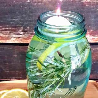 Bug Repellent Mason Jar Luminaries.