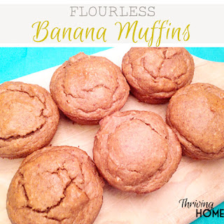 Flourless Banana Muffins (Gluten-Free Recipe)