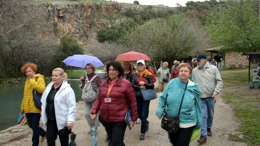 Отзыв о гиде в Израиле Светлане Фиалковой на экскурсии в Баниас