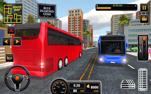 Coach Bus 2018: City Bus Driving Simulator Game 1.0.5 screenshots 3
