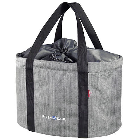 KLICKfix Shopper Pro sykkelveske, grå