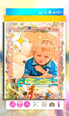 برنامج تركيب الصور اطفال screenshot 1