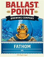 Logo of Ballast Point Fathom IPA