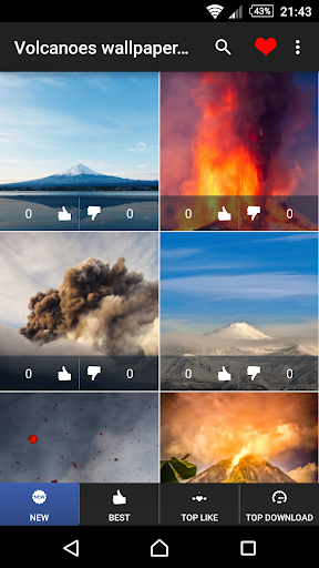 玩免費個人化APP|下載火山の壁紙4K app不用錢|硬是要APP