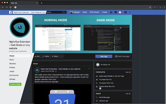 night mode software for pc free download