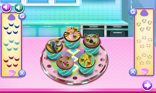 game cooking decorating cupcakes for girls - náhled