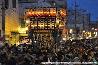 Photo: 【平成26年(2014) 本宮】 大混雑する上溝商店街を行く。
