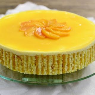 Peach Souffle Cake
