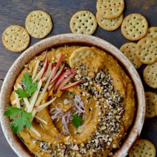 Roasted Garlic & Butternut Hummus