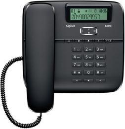 Gigaset - standardní telefon s displejem, barva černá