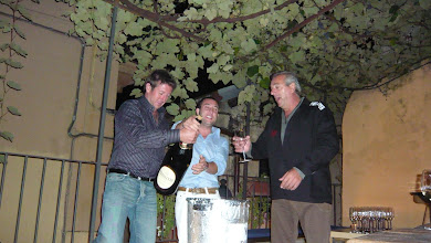 Photo: Boat race celebrations!