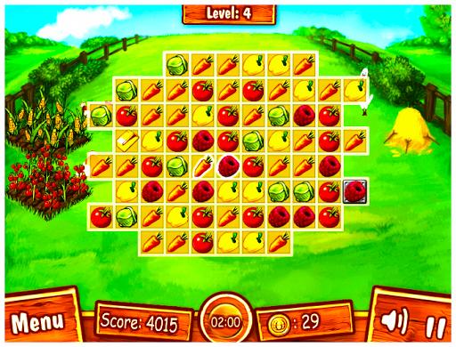 เกมส์เรียงผัก ปลูกสวนผัก ฟรี