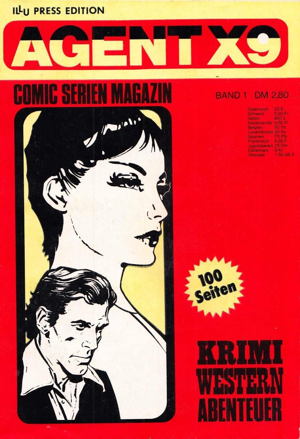 Agent X9 (1976) - komplett