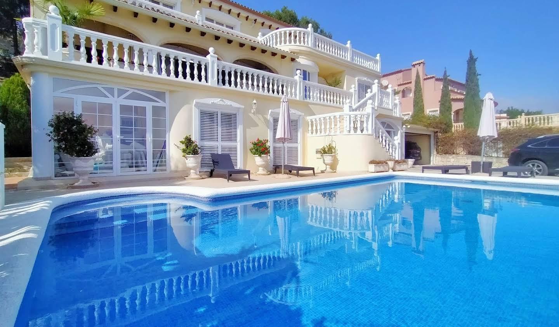 Maison avec piscine et terrasse Denia