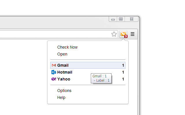 X-notifier (for Gmail™,Hotmail,Yahoo,AOL   )