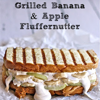 Grilled Banana and Apple Fluffernutter