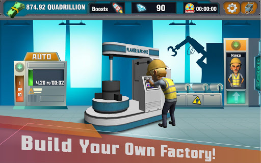 Factory Tycoon : Idle Clicker Game 0.4 screenshots 11