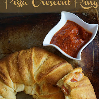 Pizza Crescent Ring Recipe