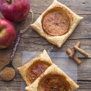 Cinnamon Apple Puff Pastry Squares.