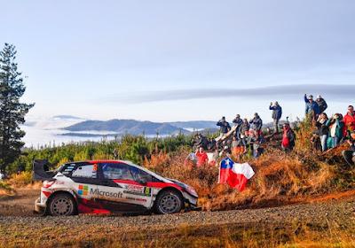 WRC Chili : Tanak l'emporte devant Ogier et Loeb, Neuville perd la tête du championnat