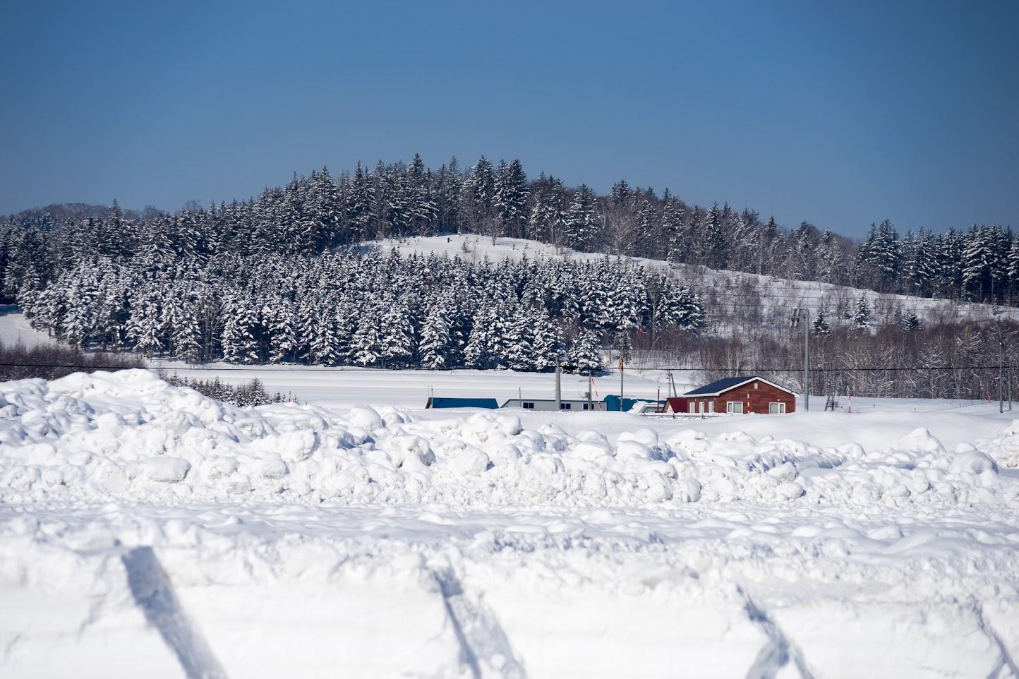 北竜町美葉牛地区の風景