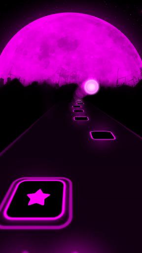Más cerca: capturas de pantalla de The Chainsmokers Tiles Neon Jump 3