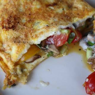 Vegetable Omelets.