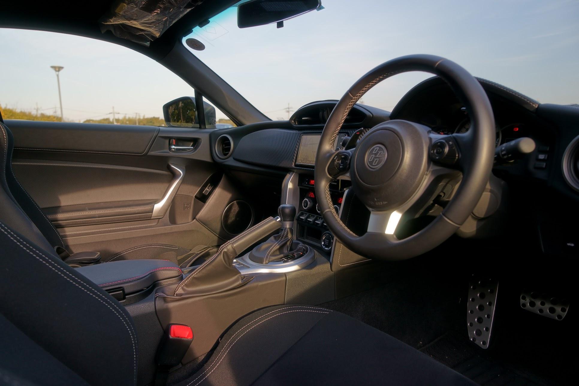 トヨタ86内装