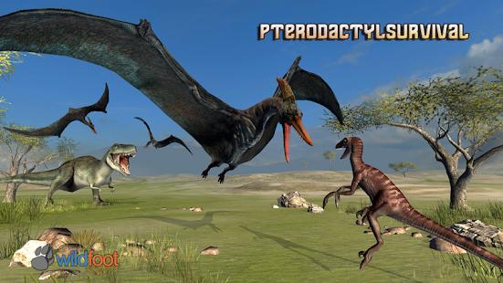 Pterodactyl survival: Simulator