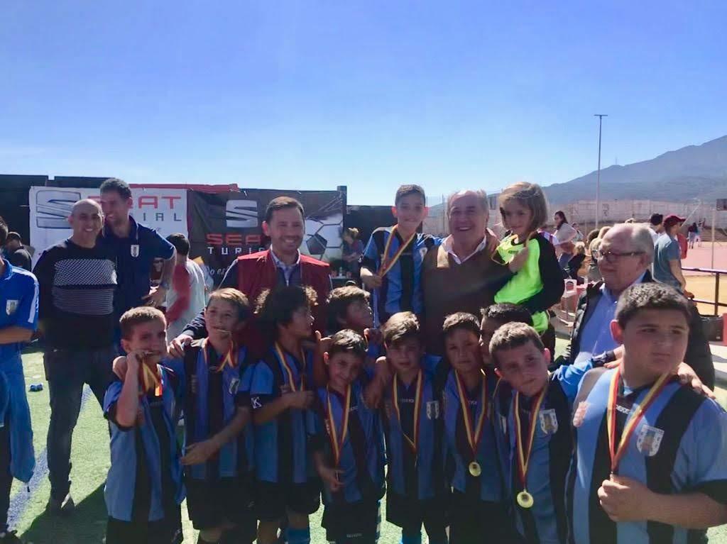 Entregadas las medallas del trofeo del Día de Andalucía del Club Deportivo Algeciras
