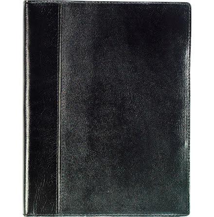 Business A5 skinn  svart