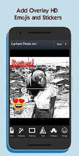 Cartoon Photo Art Screenshot