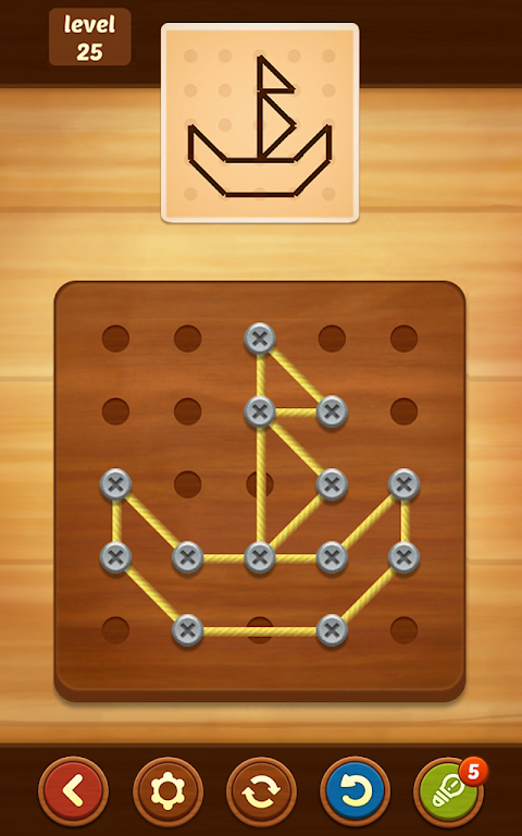 Line Puzzle: String Art poster 3