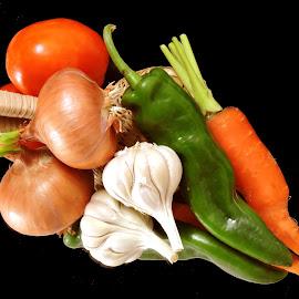colour four by SANGEETA MENA  - Food & Drink Ingredients