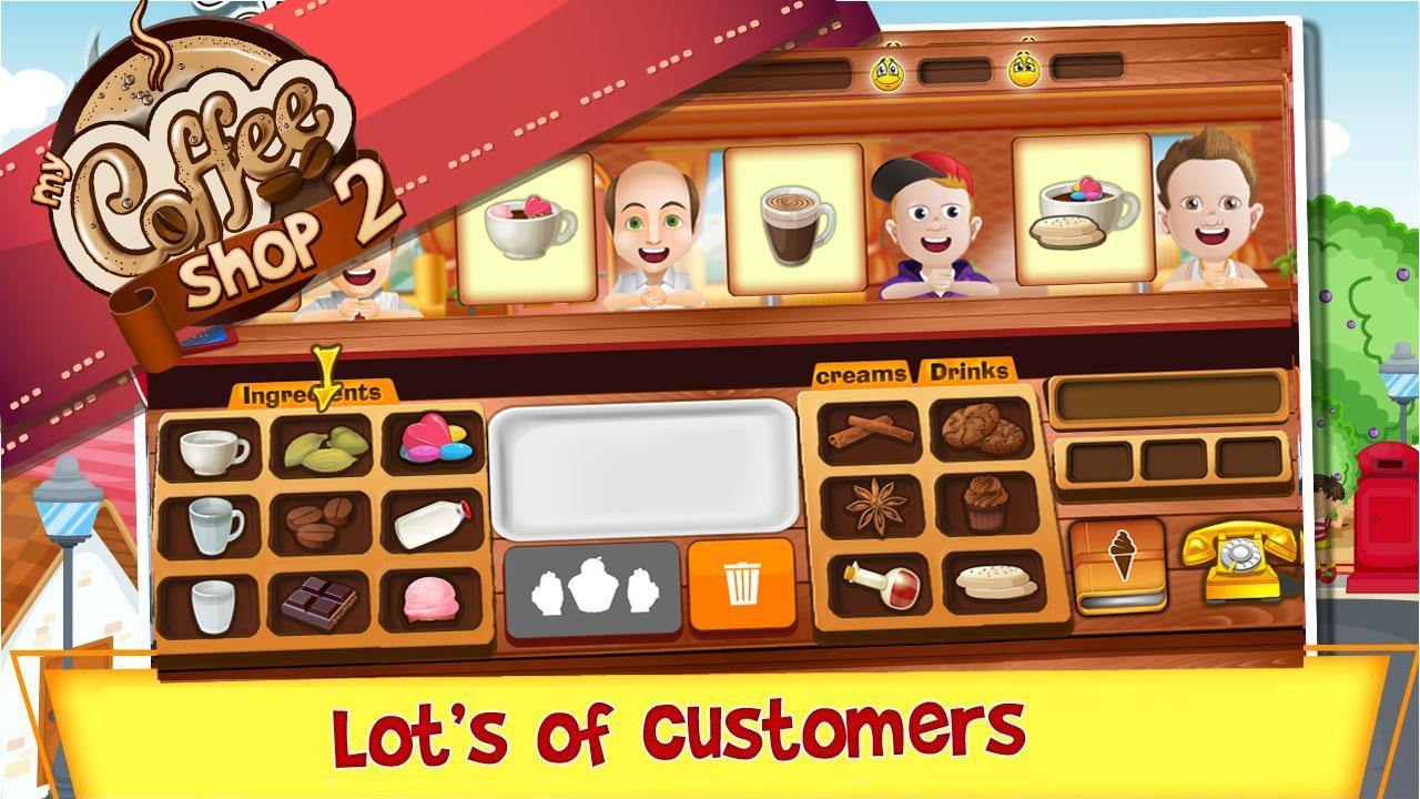 cofee shop game
