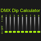 DMX DIP Switch Calculator