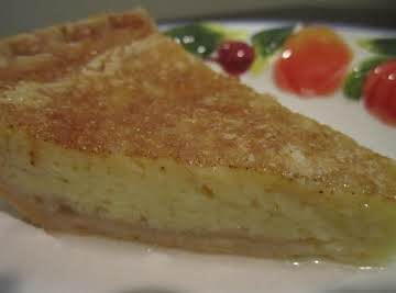 It's A Cinch Egg Custard Pie